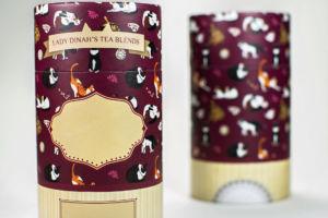 Tea box, Lady Dinah's Cat Emporium