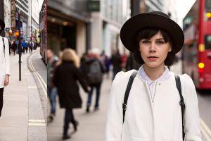 Street fashion, London, UK, 2014
