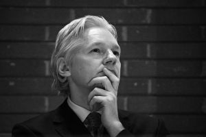 Julian Assange, founder of Wikileaks, London, UK, 2011