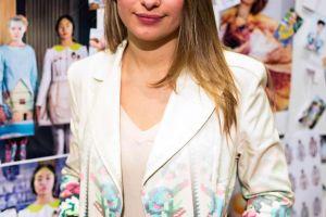 Lana Dumitru, fashion designer, London, UK, 2014